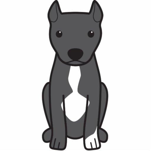Pitbull Terrier americano (orelhas colhidas) Escultura Foto