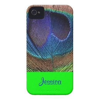 PixDezines Psychedellic Peacock/DIY Capa De iPhone 4 Case-Mate