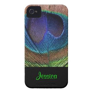 PixDezines Psychedellic Peacock/DIY Capas De iPhone 4 Case-Mate