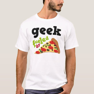 Pizza (engraçada) do geek tshirts