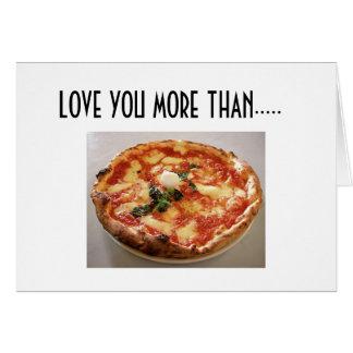 PIZZA-LOVE MAIS DO QUE CARREGADO VOCÊ CARTOES
