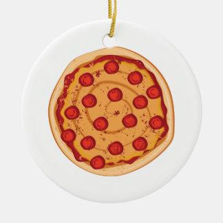 Pizza Ornamento De Cerâmica