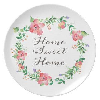 Placa decorativa Home doce Home Pratos