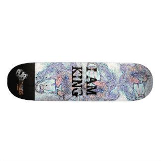 Placas de AJR EU SOU REI - personalizado Shape De Skate 18,4cm