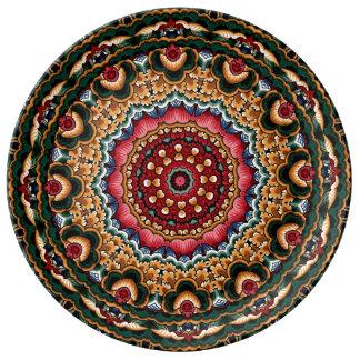 Placas decorativas & azulejos do Majolica italiano Louça De Jantar