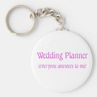 Planejador do casamento chaveiro