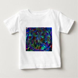 Planeta azul da alienígena da faísca t-shirt
