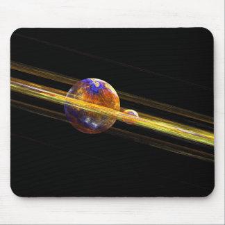 Planeta do espaço profundo mousepad