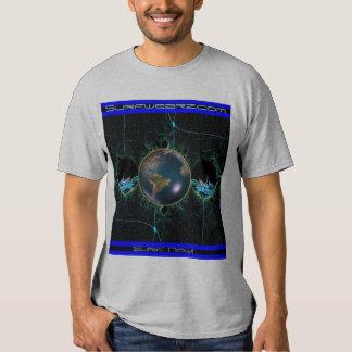 Planeta do surf camisetas