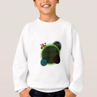 Planetas aleatórios t-shirt