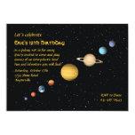 Planetas no convite do espaço