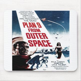 """""""Plano 9 do espaço"""" Mousepad"""