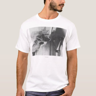 Plano piloto do embarque de Howard Hughes T-shirts
