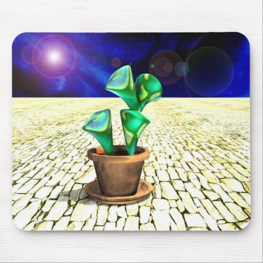 Planta da alienígena de espaço de Mousepad