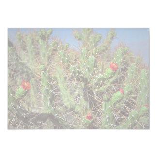 Planta do cacto, garganta de Colca, Peru, Ámérica Convite Personalizado