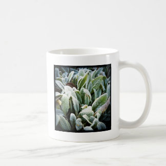 Plantas do inverno caneca de café