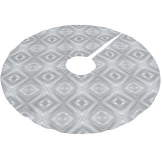 Plástico claro de prata 0205 cobertura para árvore de natal de poliéster