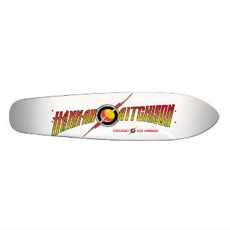 Plataforma clássica do skate de Cali da banana de