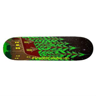 Plataforma da cabine Sk8 dos #ShadEdCollaborates Shape De Skate 20cm
