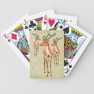Plataforma de cartão ambarina dos fanfarrões do vi baralho para poker
