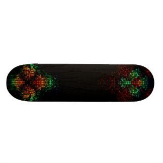 Plataforma do lado escuro shape de skate 18,1cm