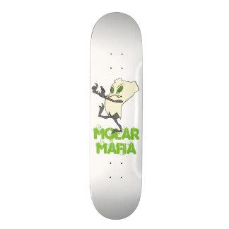 Plataforma do skate de Tooth® do zombi de