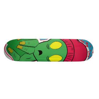 plataforma do zxmbie shape de skate 20,6cm