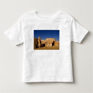 Plateau de filmagem famoso de filmes de Star Wars T-shirt