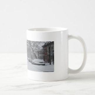 Platô Montreal no inverno Caneca De Café