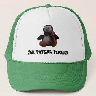 Pndo o chapéu do camionista do pinguim boné