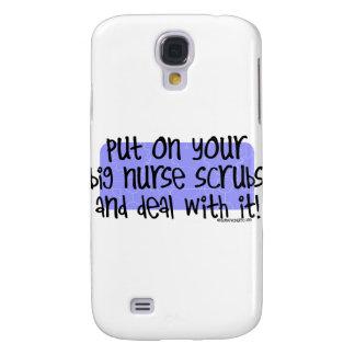 Pnha sobre sua enfermeira grande esfrega e negócio capas samsung galaxy s4