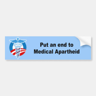 Pnha uma extremidade ao Apartheid médico Adesivos