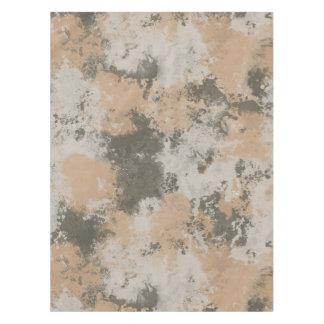 Poça de lama abstrata toalha de mesa