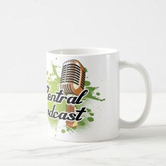 Podcast da central do artesão caneca de café