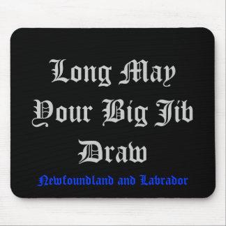 Pode por muito tempo seu desenhar grande de patíbu mouse pad
