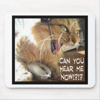 pode você ouvir-me agora? mouse pad