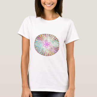 Poder da alma: Design artístico da energia solar Tshirts