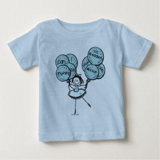Poder da menina - vai o azul! tshirt
