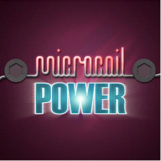 Poder de Microcoil Fotoesculturas
