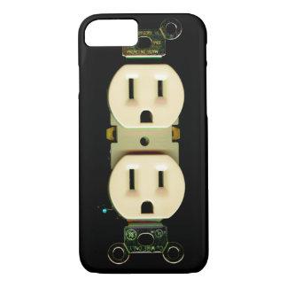 Poder do engenheiro electrotécnico do contratante capa iPhone 7