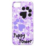 Poder do filhote de cachorro - impressões da pata  capa de iPhone 5 Case-Mate