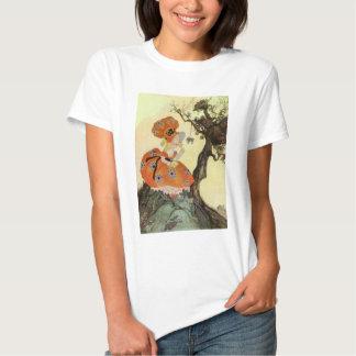 Poema da rima de berçário do ganso de mãe do camiseta