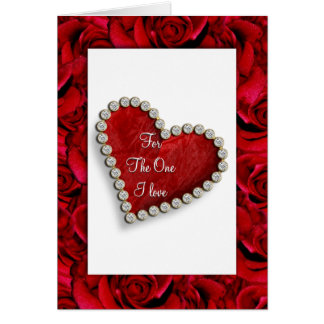 Poema romântico do amor dos namorados do cartão comemorativo