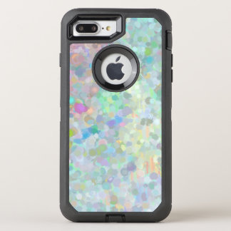 Pointillism que pinta o caso positivo do iPhone 7 Capa Para iPhone 8 Plus/7 Plus OtterBox Defender