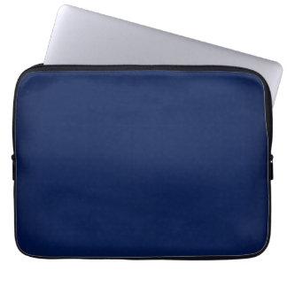 Polegadas customizável dos azuis marinhos modernos bolsas e capas de notebook