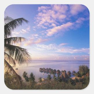Polinésia francesa, Moorea. Vista do Baie de Adesivos