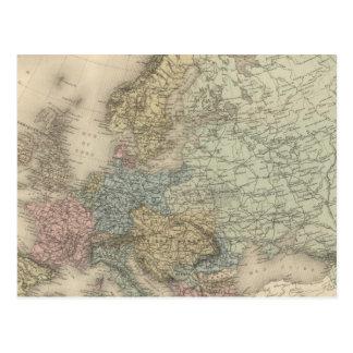 Política de Europa Cartao Postal