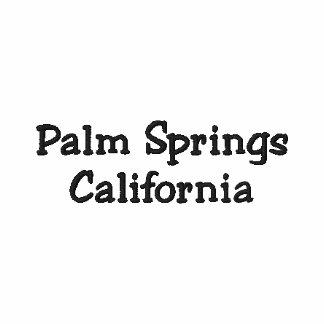 Pólo bordado Califórnia do Palm Springs!!! Camiseta Bordada Polo