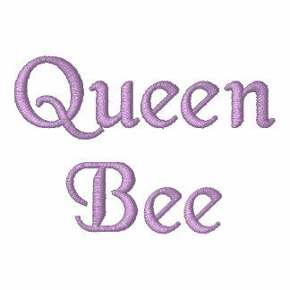 Polo bordado da abelha de rainha