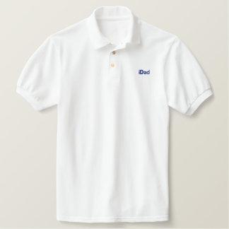 pólo bordado iDad Camiseta Bordada Polo